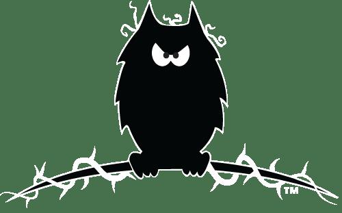 A pensive little owl. Sky Bardsey