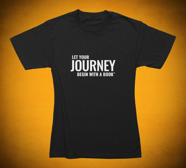 Let Your Journey Begin with a Book - T-Shirt