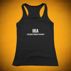 Anger is My Sin - Tank Top