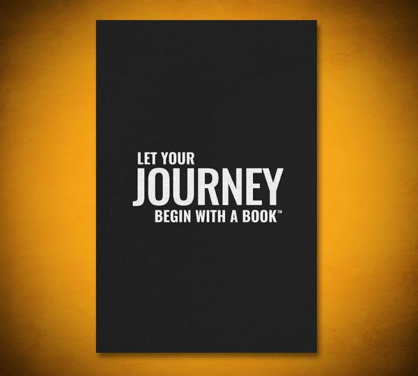 Let Your Journey Begin with a Book - Gallery Art