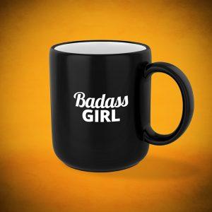 Badass Girl - Mug