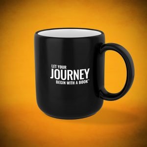 Let Your Journey Begin with a Book - Mug