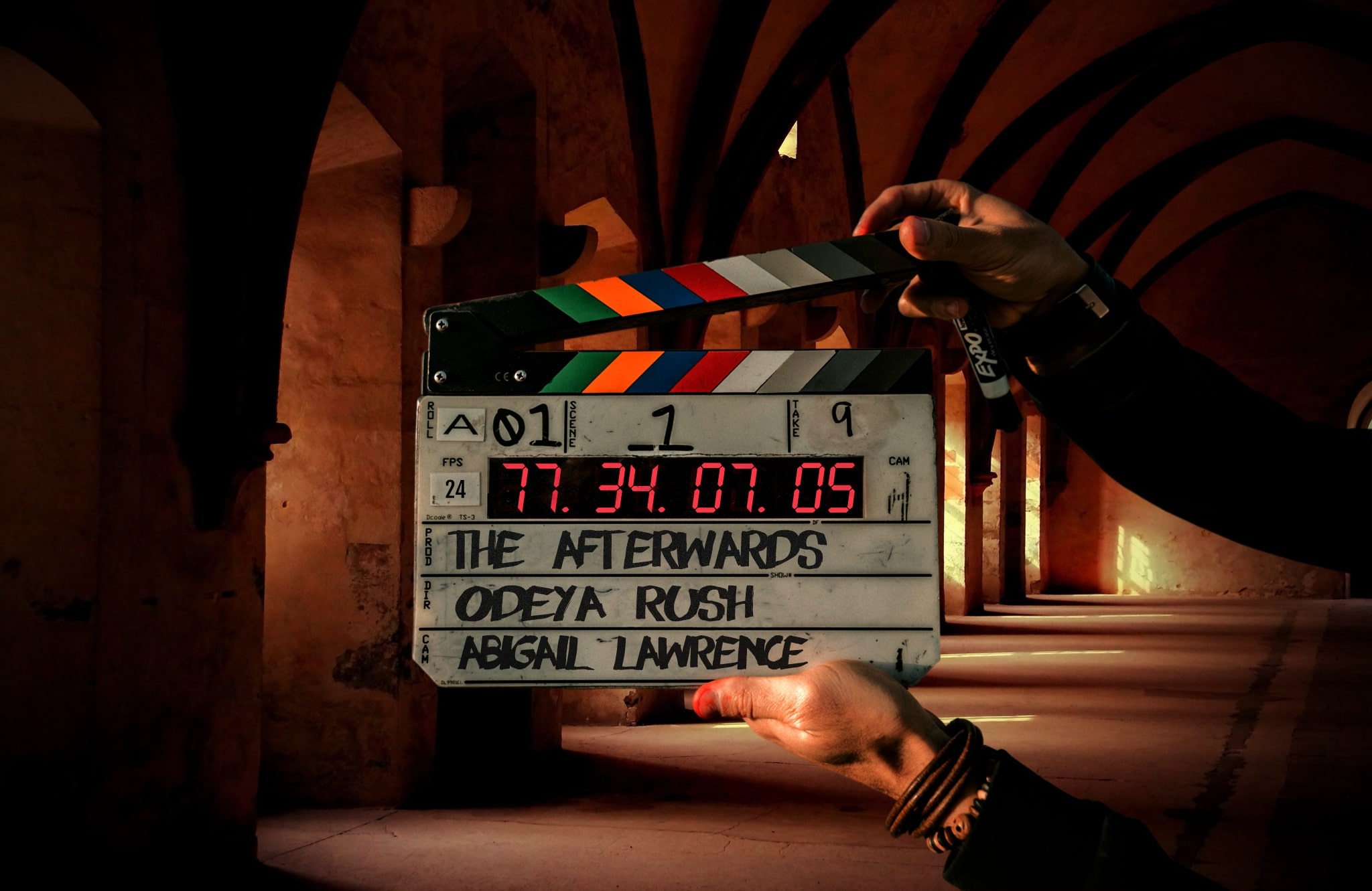 The Afterwards Television Series. On location Movie Slate